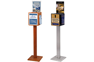 Floor Standing Enter To Win Free Ballot Boxes