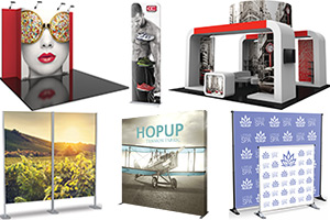 Trade Show Exhibits, Walls, Panels